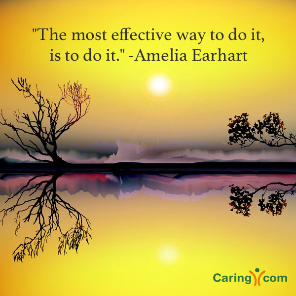 Inspirational Quote from Amelia Earhart