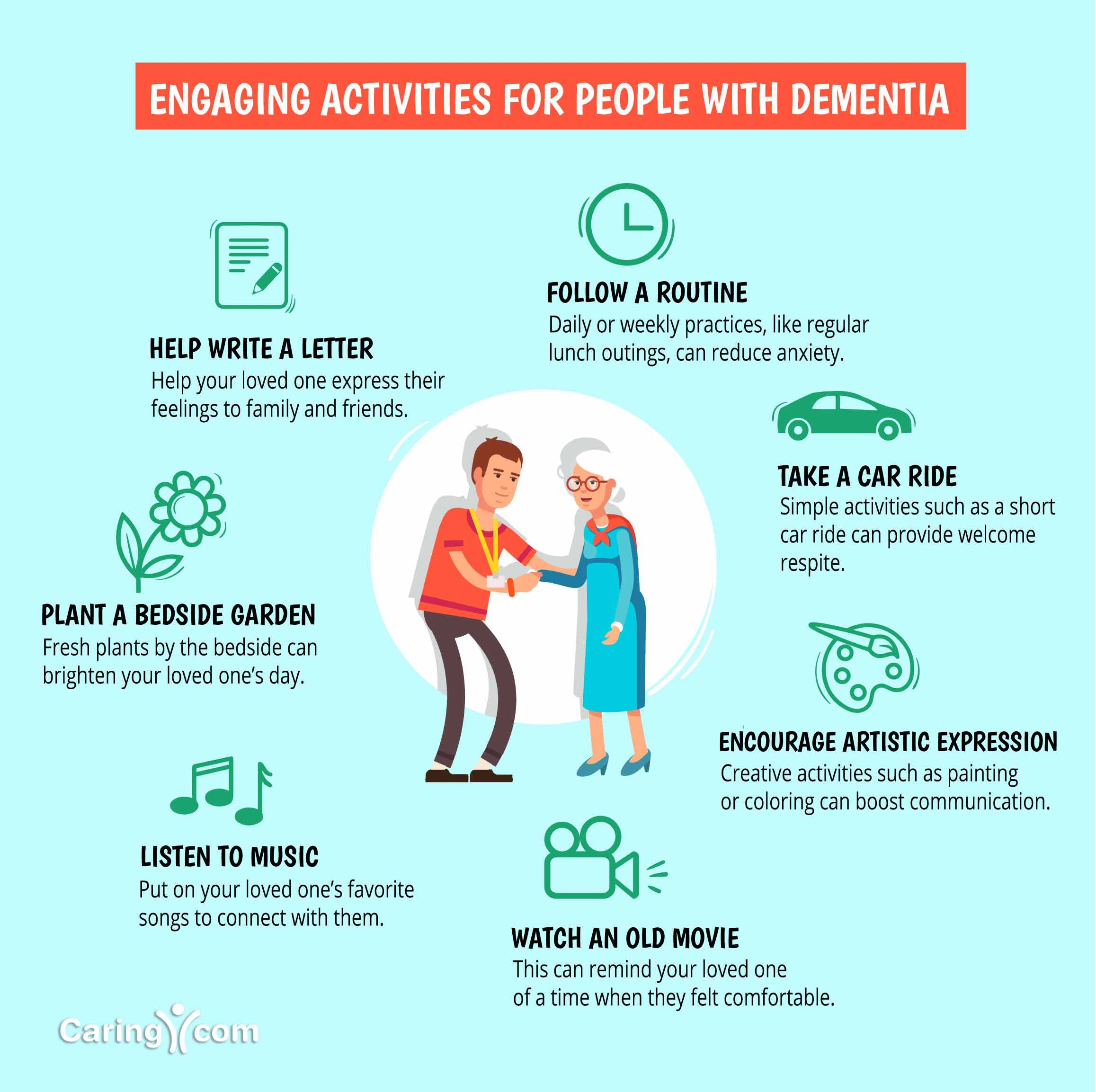 Engaging Activities for Seniors with Dementia