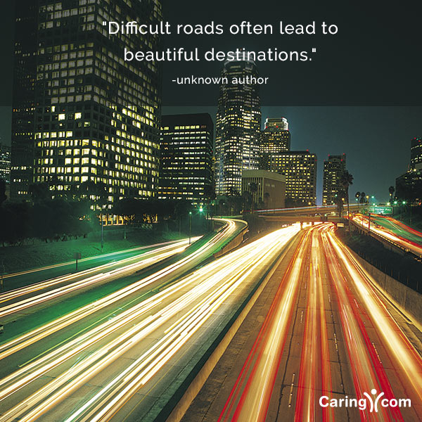 Inspirational Quote About Different Roads