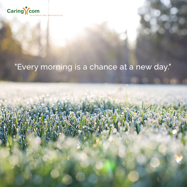New Day Caregiving Quote