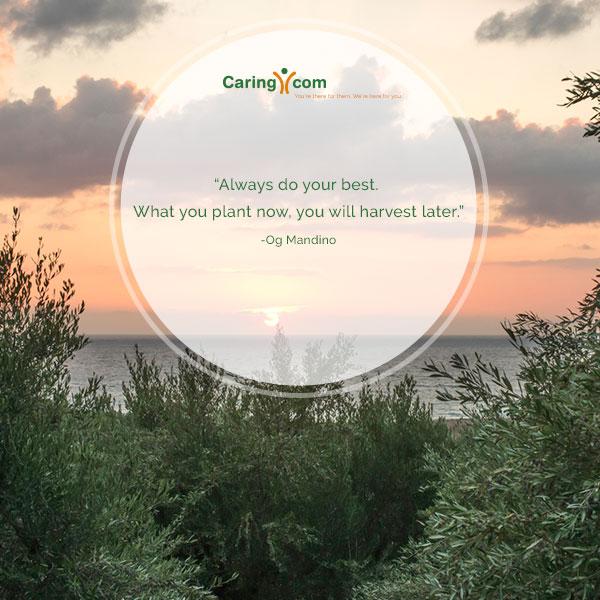 Inspirational Quote from Og Mandino