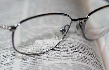 bifocals and words