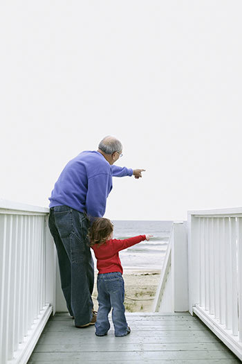 grandfather granddaughter